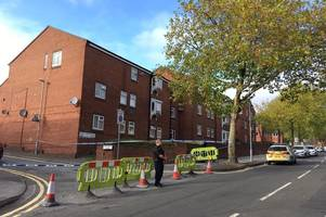 man rushed to hospital with life-threatening injuries after daylight stabbing