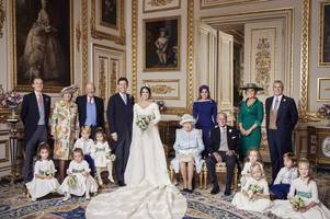 these amazing new pictures reveal princess eugenie's lavish wedding reception for the first time