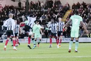 grimsby town 1-0 colchester united report as wes thomas scores blundell park winner
