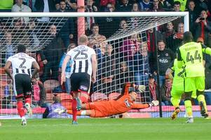 james mckeown's penalty save shows grimsby town's luck is changing in league two