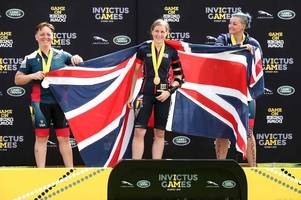 lincoln woman grabs two golds at invictus games
