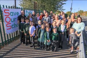 parents vow to save woodham ferrers primary school from closure