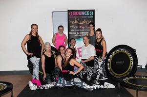 ware charity trampoline class sees participants bounce for 12 hours for mum-of-two diagnosed with breast cancer twice