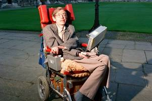 stephen hawking's wheelchair is up for sale - and it's set to go for thousands