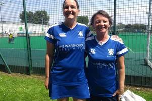 talented hockey player sally hall urges more women to try out for the sport