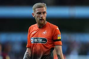 swansea city's oli mcburnie, social media trolls and graham potter's staunch defence