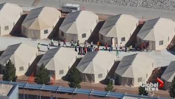 u.s. authorities held immigrant children in a 'tent city' for months: court filings