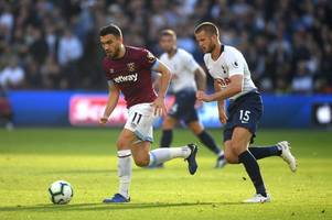 robert snodgrass explains why there were positives to take from west ham's defeat by tottenham