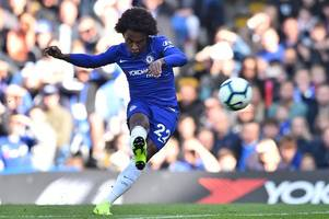 willian issues important message to chelsea teammates amid eden hazard injury concerns