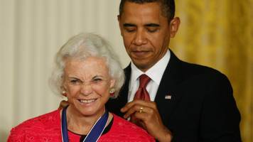 Sandra Day O'Connor, US Supreme Court first woman justice, has dementia