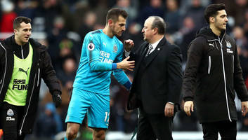 martin dubravka insists rafa benitez has '100%' backing of newcastle players despite poor form