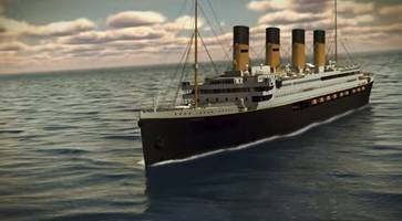 china-built titanic ii 'to set sail in 2022' - reports