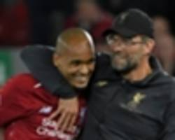 time for fabinho? why the wait may be over for klopp to unleash €50m brazilian