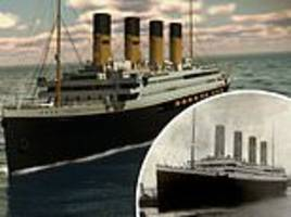 exact replica of the titanic will set sail in 2022 and follow original ship's route