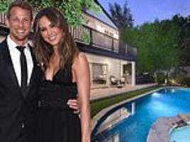 jenson button puts his california mansion on the market for $6.85m
