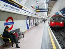 king's cross underground station is evacuated in 'fire alert'