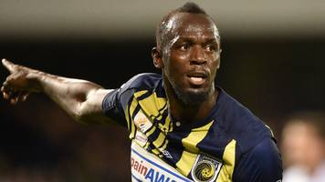 usain bolt: australian fa helping central coast mariners fund deal with olympic champion