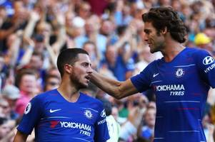 these chelsea fans are saying the exact same thing as marcos alonso signs new long-term contract