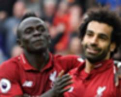 video: liverpool 4-0 red star: firmino, mane and salah all on target