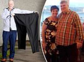 incredible transformation of morbidly obese man who tipped the scales at 31st 11lbs