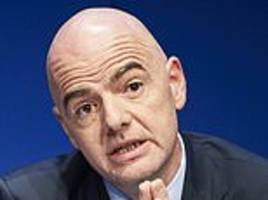 FIFA president slams chaos and 'absurdity' of Italy's lower leagues