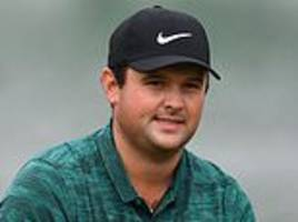 patrick reed pleased to seize first-round lead at wgc-hsbc championship in testing conditions