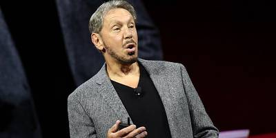 Larry Ellison agrees with his nemesis Jeff Bezos over one big thing: the 'shocking' way Google views the U.S. military (ORCL, GOOG, AMZN)