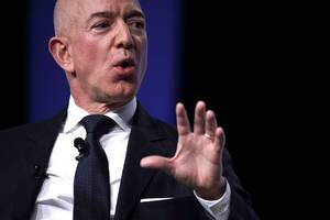 amazon is spiking ahead of earnings (amzn)