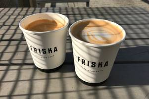 you can now get coffee for 54p at friska - this is how