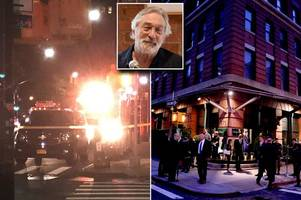 us bomb squads investigate possible eighth linked package - at robert de niro's restaurant