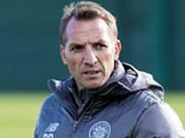 brendan rodgers dismisses talk that leigh griffiths went awol after europa league defeat to leipzig