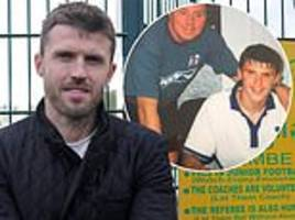 michael carrick reflects on his childhood in wallsend and how it set him on the path to glory