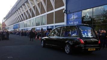 kevin beattie: funeral of ex-england and ipswich town player