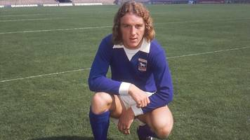 kevin beattie: tributes to 'football giant' ahead of funeral
