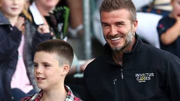 david beckham on invictus games: 'it's so special and so inspiring'