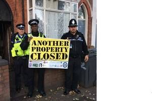 brothel inside flat at whatley road, handsworth, closed by police
