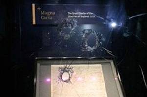 man, 45, arrested over trying to steal magna carta from salisbury cathedral