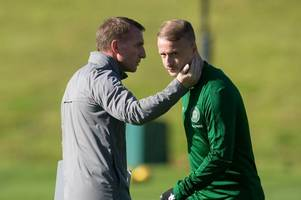 leigh griffiths rumour rubbished as celtic boss brendan rodgers dismisses 'tittle tattle'