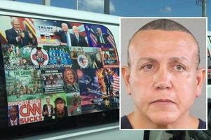 us mail bomb suspect identified by police as 56-year-old trump supporter cesar sayoc