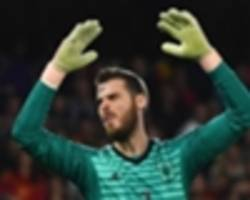 strachan: de gea not getting job satisfaction at man utd... he should be able to leave