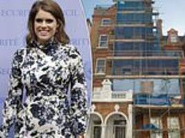 talk of the town: is eugenie set to swap  a palace for a penthouse?