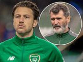 harry arter insists row with roy keane is now 'water under the bridge'