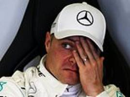 mercedes scare as valtteri bottas breaks down in mexican grand prix final practice