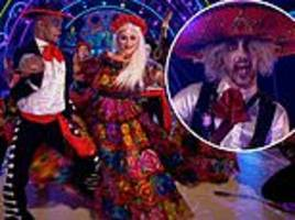 strictly come dancing: viewers slam show for 'cultural appropriation' with day of the dead theme