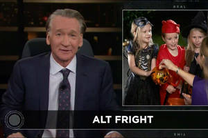 bill maher complains that halloween costumes are too 'pc'