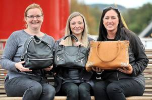 west dunbartonshire handbag heroes helping homeless women