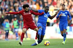 the cardiff city v liverpool player ratings as joe bennett copes brilliantly with mo salah but sol bamba struggles