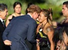 performing the haka and getting hongi: prince harry's special relationship with new zealand