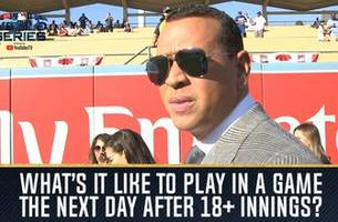a-rod, big papi and frank thomas detail what it's like to play the day after 18+ innings