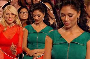 strictly 2018: nicole scherzinger's run-in with tess daly sends fans into meltdown as she appears to mouth 'get away' live on air